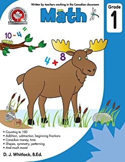 Math Grade 1: Counting to 100, addition, subtraction, beginning fractions, Addition, subtraction, beginning fractions, Can...