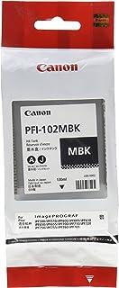 Canon PFI-102MBK ImagePrograf iPF500 510 600 655 750 755 760 765 130ML Ink Tank (Matte Black) in Retail Packaging photo
