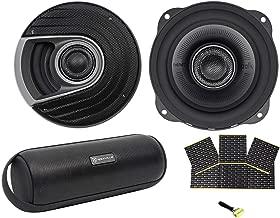 (2) Polk Audio MM522 5.25 600w Car Audio/Marine Speakers+Rockmat+Free Speaker