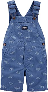 OshKosh B'Gosh Baby Boys' Shark Shortall, 12 Months Blue