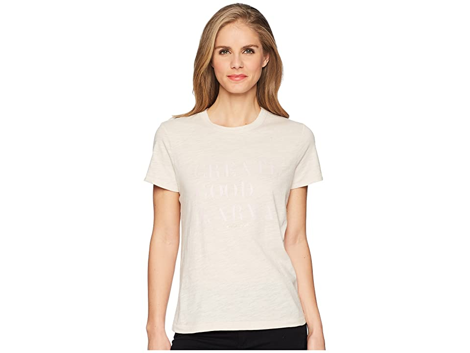 Spiritual Gangster Good Karma Tee (Sand) Women