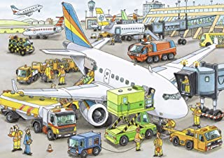 Ravensburger Busy Airport Puzzle, 35 Piece