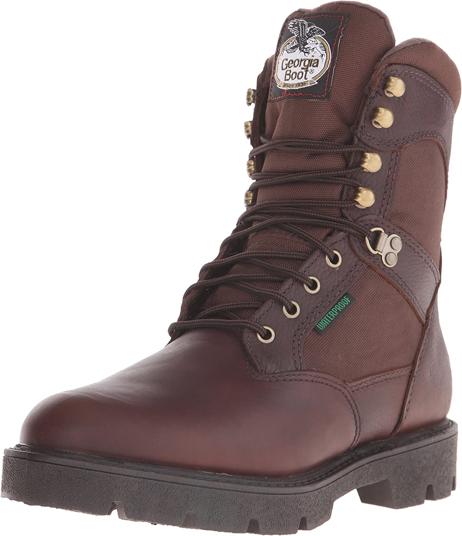 Georgia Boot Men's Homeland 8 Inch Casual Work shoes