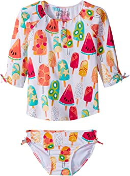 Hatley Kids - Fruity Lollies Rashguard Set (Toddler/Little Kids/Big Kids)