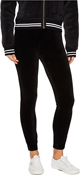 Juicy Couture - Stretch Velour Juicy Leggings