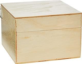 Caixa de fichário, Souza & Cia, 3542, MADEIRA