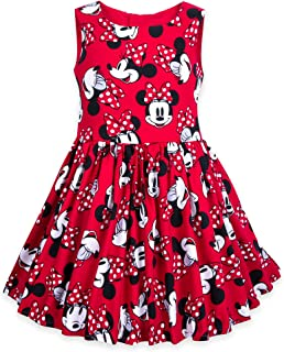 Minnie Mouse Sleeveless Red Dress for Girls Red