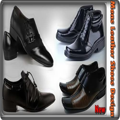 Mens Leather Shoes Design New