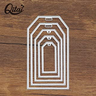 Custom Tag Cutting Dies Metal Cutting Dies Stencils for DIY Scrapbooking Album Paper Card Embossing