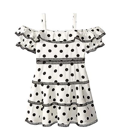4a0bbe157bef Bardot Junior Isola Dress (Big Kids) (Black Spot) Girl's Dress