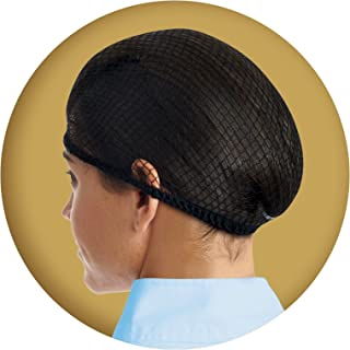 Ovation Deluxe Hair Net Pack of 2, Black, One Size