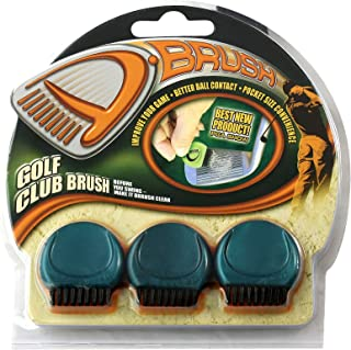 ProActive Sports D-Brush Pocket Golf Club Groove Brush 3 Pack