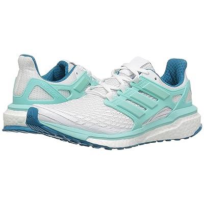 adidas Running Energy Boost (Footwear White/Energy Aqua/Mystery Petrol) Women