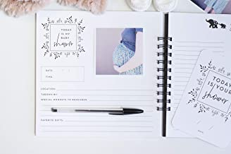 Pregnancy Journal, Black and White: A nine-month journal to document every important..