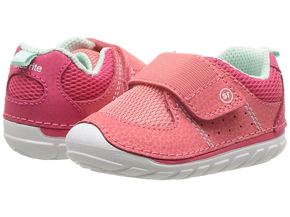 Stride Rite Soft Motion Ripley (Infant/Toddler) (Coral) Girl