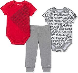 Baby Boys 3 Pieces Bodysuit Pants Set