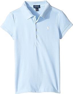 Polo Ralph Lauren Kids - Short Sleeve Mesh Polo Shirt (Little Kids/Big Kids)