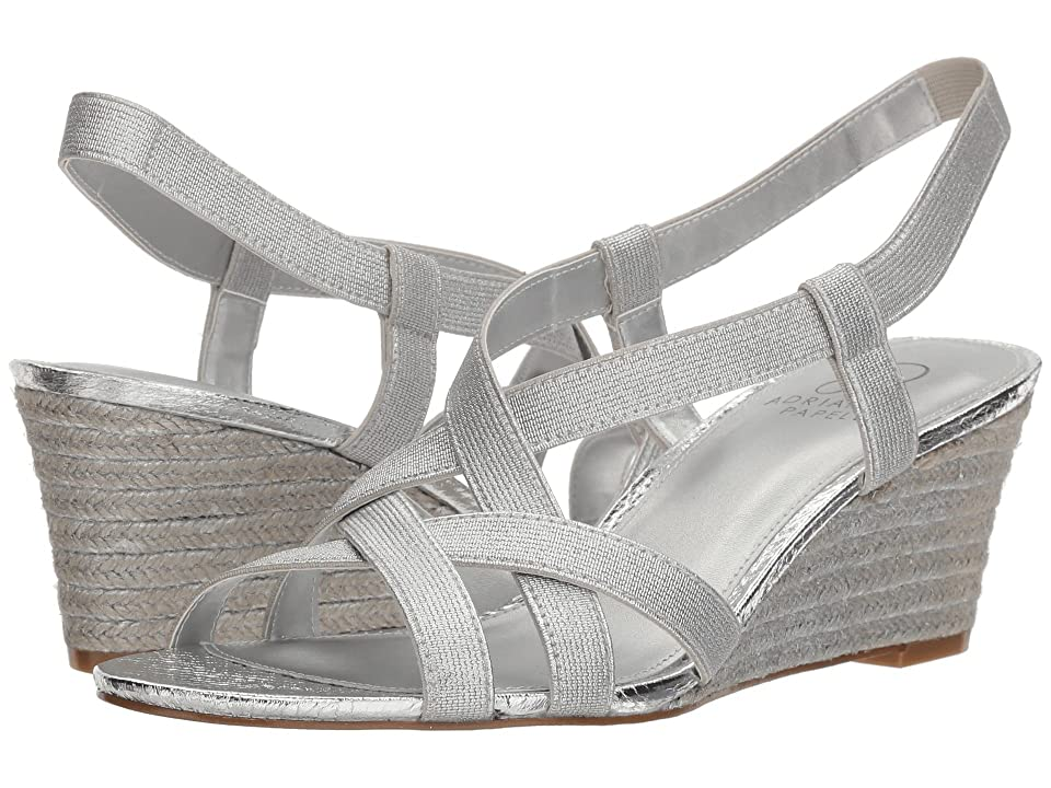 Adrianna Papell Alba (Silver Elastic) Women