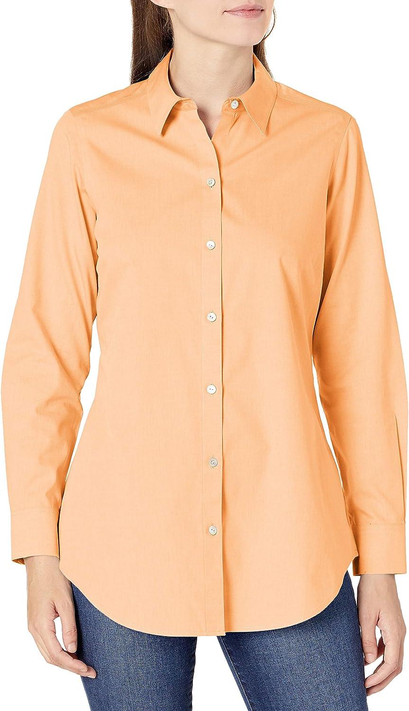 Foxcroft Women's Joplin Non-Iron Pinpoint Shirt