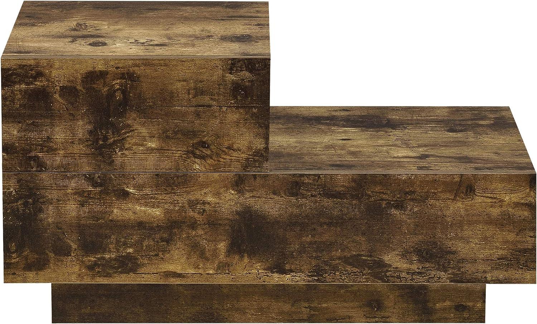 en.casa Nachttisch mit 2 Schubladen Nachtschrank 38x70x35cm Kommode Beistelltisch Schubladentisch Dunkelgrau Matt
