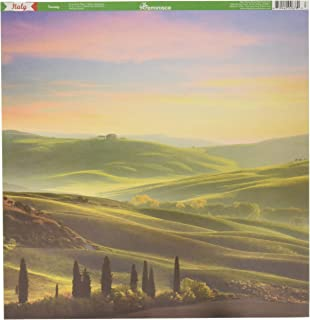Reminisce IT-200 Italy Scrapbook Collection Kit, Multi Color Palette