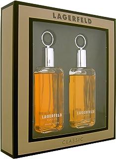 Karl Lagerfeld Zestaw upominkowy EDT w sprayu 60 ml i po goleniu 60 ml, 1 opakowanie (1 x 120 ml)
