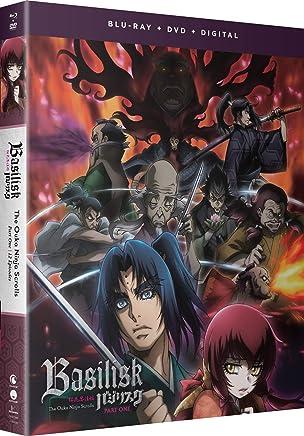 Basilisk The Ouka Ninja Scrolls Part 1 Blu-ray/DVD(桜花忍法帖 バジリスク新章 パート1 1-12話))