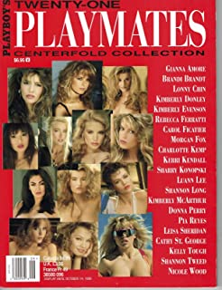 Playboy's Twenty-One Playmates Centerfold Collection Single Issue Magazine – 1996