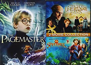 Vivid Kids Magical Triple Movie Pagemaster Feature Lemony Snicket's A Series Of Unfortunate Events + Spiderwick Chronicles family DVD Imagination 3-Pack