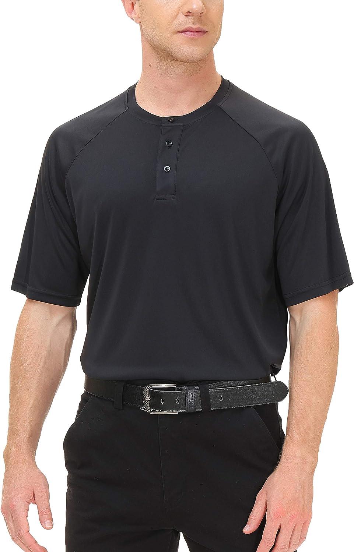 MOHEEN Men's Super intense SALE Short Sleeve Over item handling Polo Shirt Wicking Moisture Performanc