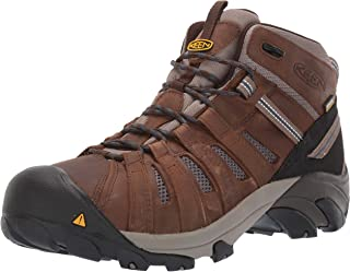 KEEN Utility Men's Cody Mid Waterproof (Steel Toe) Eh-Rated Waterproof Work Industrial Boot