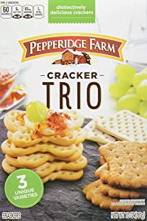 Pepperidge Farm Trio Variety Crackers, 10 Ounce Box