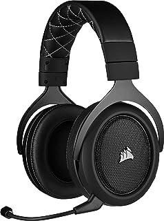 Corsair HS70 PRO WIRELESS SE, Auriculares Para Juegos (7.1 Sonido Envolvente, Inalámbrico De 2.4 GHz De Baja Latencia, Uni...