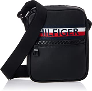 Tommy Hilfiger Urban PU Mini Reporter, Black, AM0AM05904