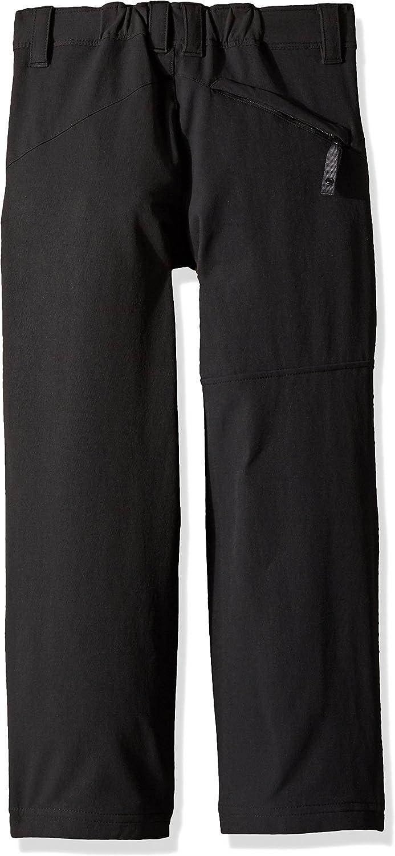 Jack Wolfskin Jack Wolfskin Softshell-broek voor kinderen, uniseks, waterafstotend, elastisch, ademend, winddicht, outdoor softshell broek Zwart