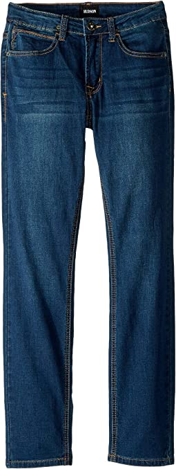 Slim Skinny - Knit Denim in Gesso (Big Kids)
