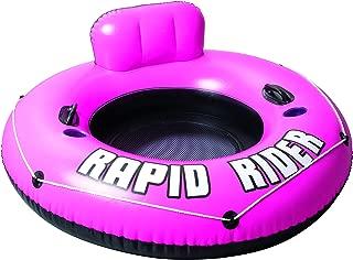 Bestway Rapid Rider Inflatable River Tube, Pink, 53