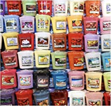 يانكي كاندل فوتيس - حقيبة حمل مكونة من 10 شموع نذرية متنوعة - روائح مختلطة عشوائية