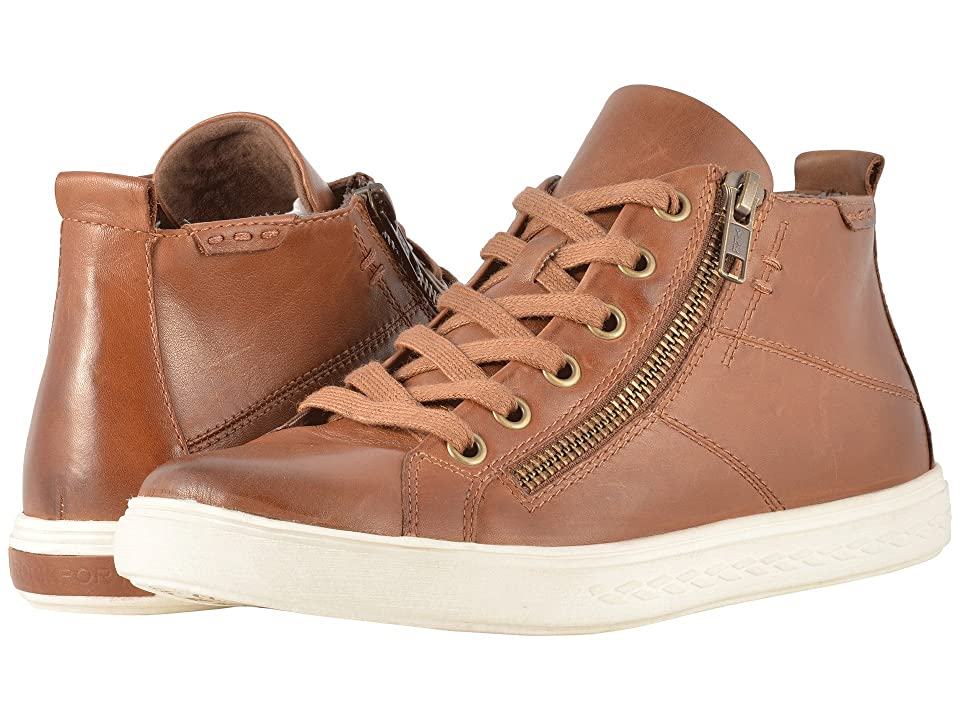 Rockport Cobb Hill Collection Cobb Hill Willa High Top (Almond Leather) Women