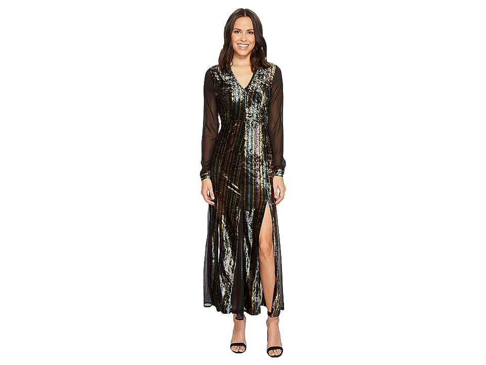ROMEO & JULIET COUTURE Velvet Dress (Multi) Women