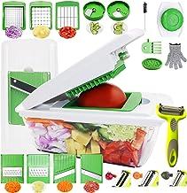 RTMAXCO Vegetable Chopper Mandoline Slicer Dicer Peeler Onion Chopper, Food Chopper Cutter Cheese Grater,Vegetables Spiral...