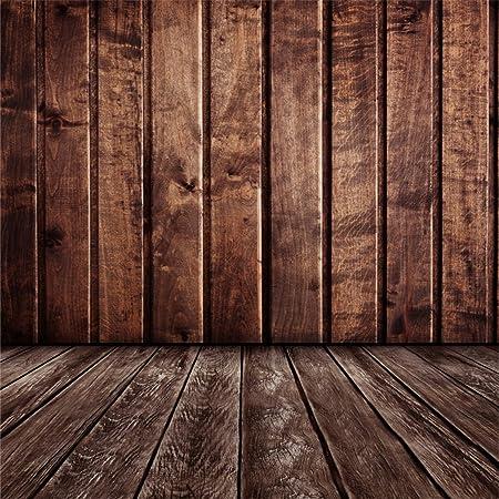 Yongfoto 3x3m Foto Hintergrund Holz Braun Innenraum Mit Kamera