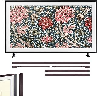 "Samsung QN49LS03RA The Frame 3.0 49"" QLED 4K UHD TV(2019) w/Additional Frame (Brown)"