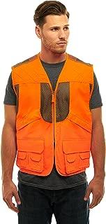 TrailCrest Men's/Ladies Blaze Orange Safety Deluxe Front Loader Vest with Multiple Pockets