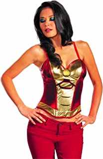 Disguise Marvel Iron Man Mark 42 Fiercely Femme Sassy Womens Adult Bustier Costume