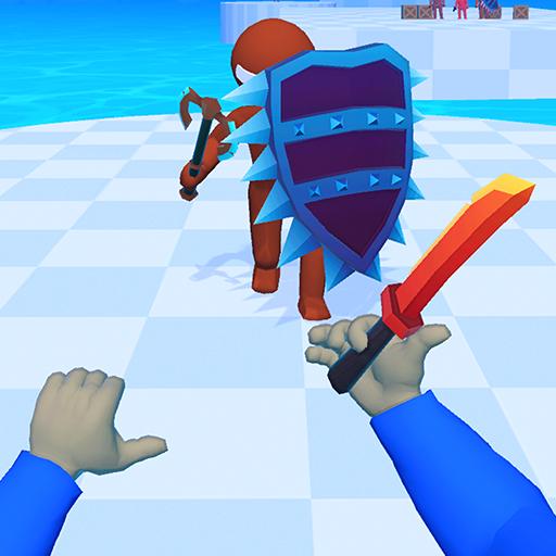 Knife Hit Crowd Battle Master Race 3D