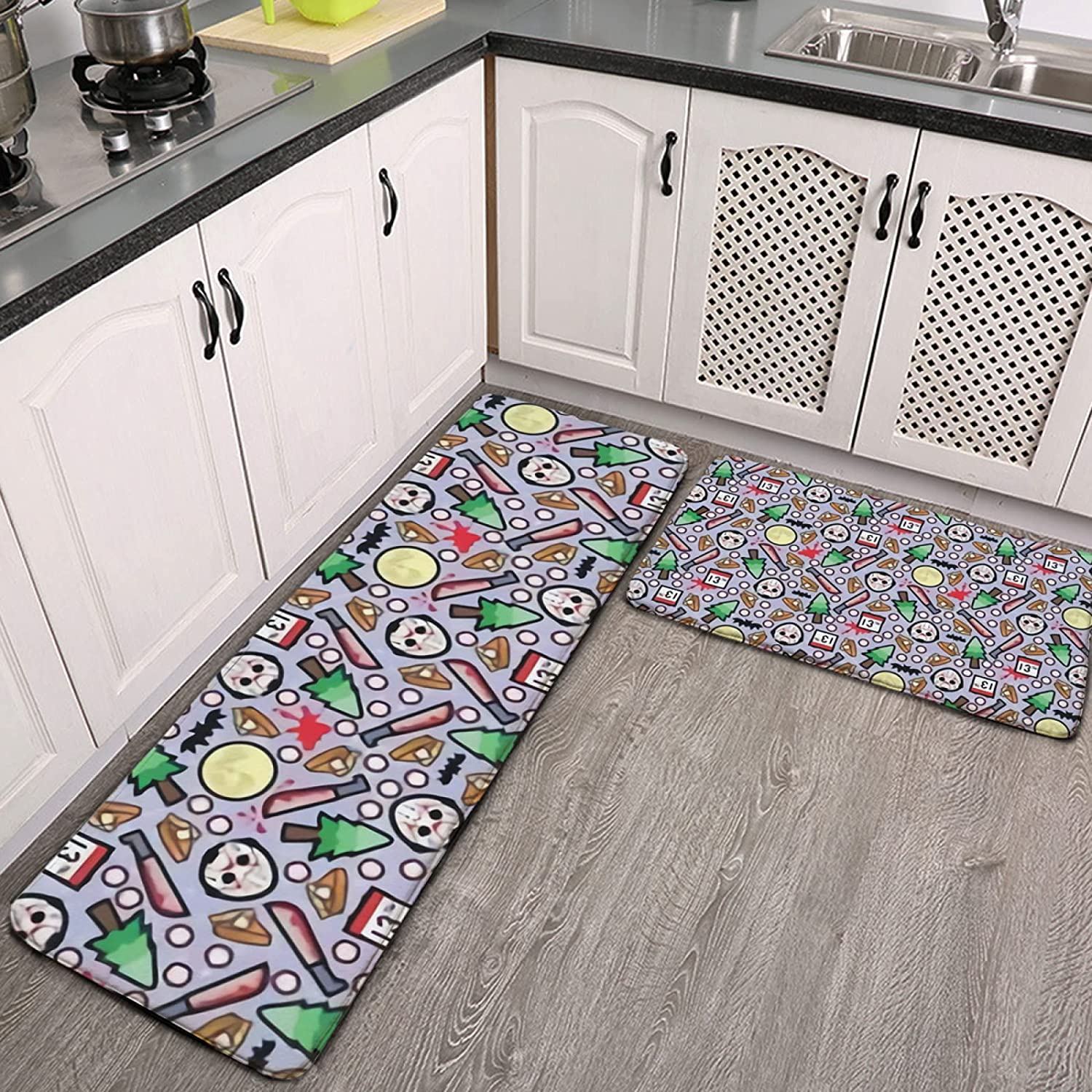 2 Piece Kitchen Floor Mats Soft Friday Non-Slip Absorbent Limited Max 48% OFF price Water