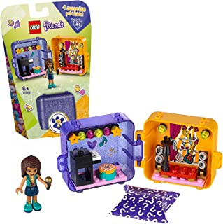 LEGO 41400 Friends Andrea's Play Cube Series 1, Collectible Mini Playset, Portable Travel Case