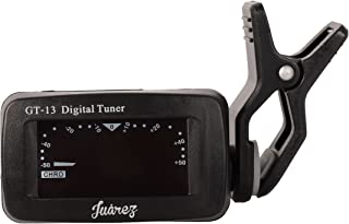 Juarez GT-13 Digital LCD Guitar Bass Violin Ukulele Clip On Automatic Chromatic Tuner