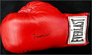 Muhammad Ali Hand Signed Autographed Red Everlast Boxing Glove OA 8414931